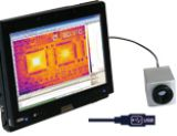 欧普士 PI160 红外热像仪 recording a thermal image of circuits