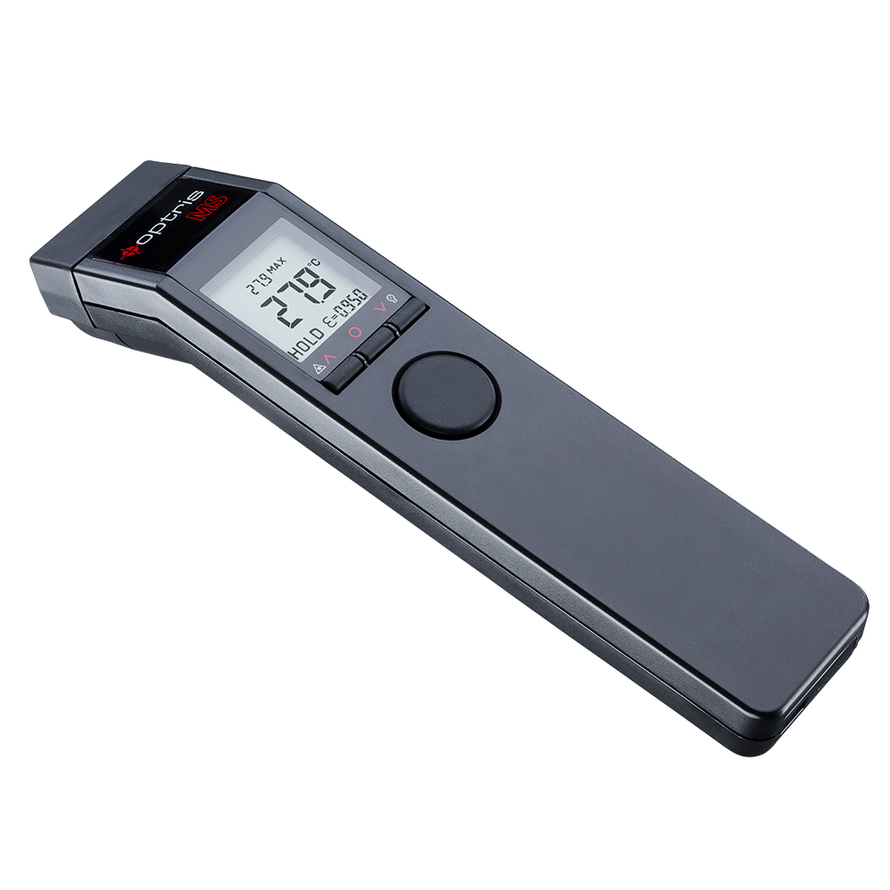 Handheld thermometer of the optris MS series