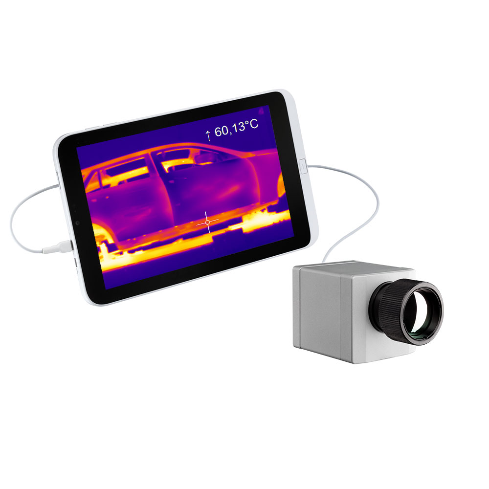 IR camera optris PI 160 with tablet